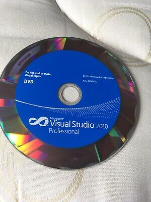 Microsoft Visual Studio 2010 Professional Edition (cd Only) • 29.95£
