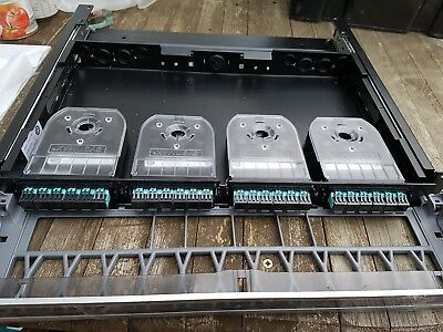 Systimax Commscope Fibre Optic Panel With Casstes • 40£