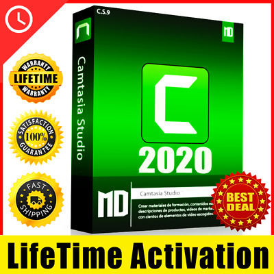 Camtasia 2020 ✅ Fast Delivery ✅ Lifetime Activation • 6.04£