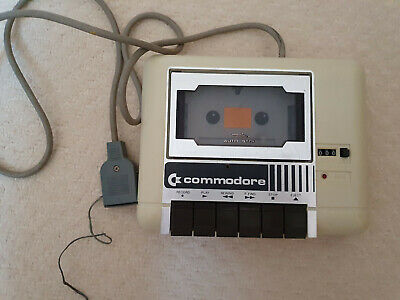 Commodore 64 C64 Datasette Cassette Tape Deck Player  Fully Working  • 19£