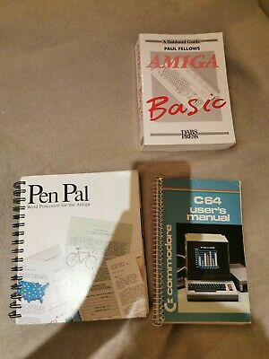 Commodore User Manuals And Guides • 10£