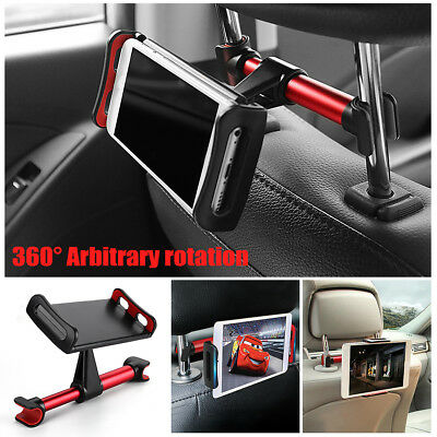 Universal Headrest Seat Car Holder Mount For Apple IPad, Galaxy Android Tablets • 7.99£