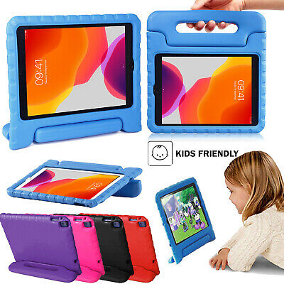 IPad 2 3 4 5 6 7 8 Air Mini Pro11 2020 Rubber Foam ShockProof Case For Kid Cover • 8.99£