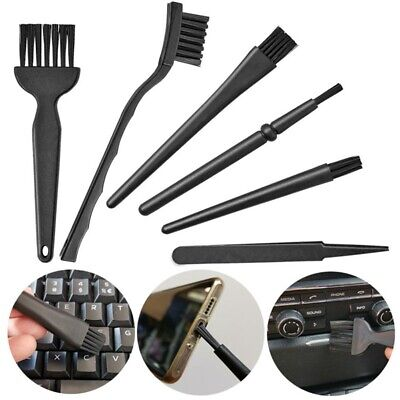 6 In 1 Mini Computer Keyboard Cleaner PC Laptop Brush Dust Cleaning Kit UK • 4.99£