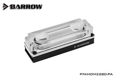 Barrow Black 2280-22110 PCI-E SSD M.2 SSD Water Block - 339 • 20£