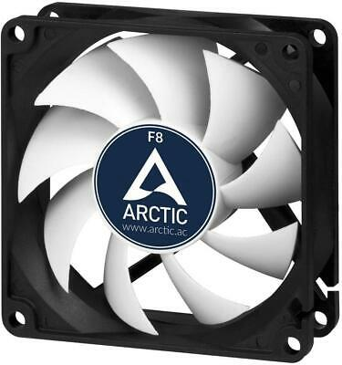 Arctic F8 80mm 2000RPM High Performance PC 3 Pin Case Cooling Fan • 6.79£