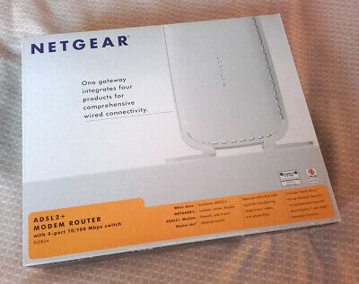 Netgear DG834 Wired ADSL2+ Modem And Router V3 • 13.99£