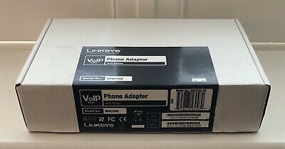 Linksys VoIP Phone Adapter With Router - Model No.: SPA2102 - Brand New • 20£