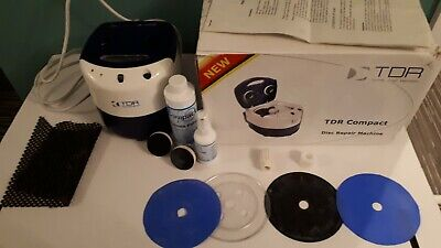 TDR Total Disc Repair COMPACT Disc Cleaning Machine • 350£
