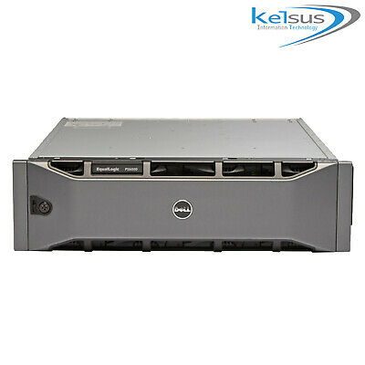 Dell EqualLogic PS6000 Storage Array SAN NAS SAS 2x PSU 2 X Control Module 7  • 139.99£