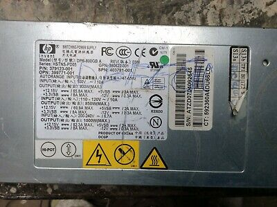HP Proliant HSTNS-PD05 1000 W Server Power Supply 379123-001 DPS-800GB A ABR336 • 15.60£