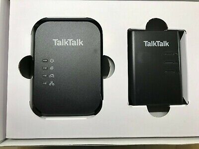Brand New -TalkTalk Powerline Adapters,Extend Wifi ,use With Youview Box & More • 20.02£