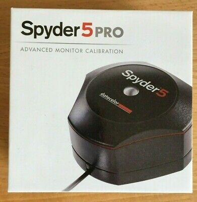 DATACOLOR SPYDER 5 PRO - SCREEN And MONITOR CALIBRATION TOOL - Spyder5 • 129.99£