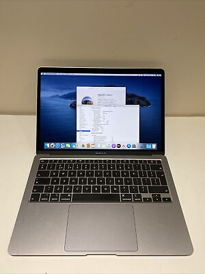 Apple MacBook Air 13.3  2020 (Space Grey, Core I3 10th Gen., 3.20 GHz, 8GB) • 799£