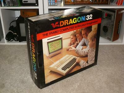 Boxed Dragon 32 Computer ~ Working But Display Fault? • 109.99£