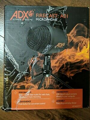 Adx Forecast A01 Gaming Microphone With Stand  • 15£