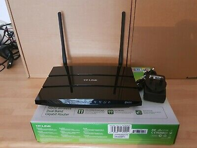 TP-Link TL-WDR3600 Wireless N Router Gigabit Lan **Openwrt Installed** • 19.99£