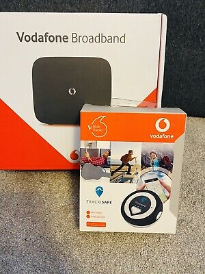Vodafone Broadband Router And Trackisafe GPS Tracker BNIB • 3.50£