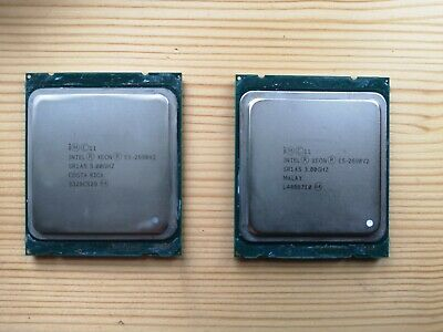 Intel Xeon 3.00GHz SR2A5 2690v2 Matched Pair  • 230£