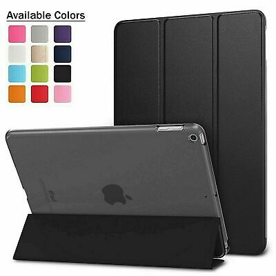 Leather Smart Case Cover Stand Fits Apple IPad 6th Generation 2018 Case • 4.99£
