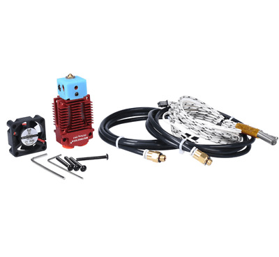BIGTREETECH 2 In 1 Out Hotend 12V Extruder BOWDEN Kit RED / UK STOCK • 22.50£