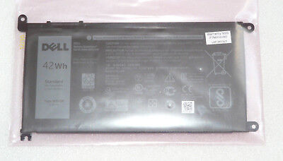New Genuine Dell Inspiron 15 5565 5567 5568 5570 5579 7560 42wh Battery Wdx0r  • 49.99£
