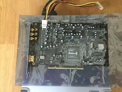 CREATIVE SOUND BLASTER AUDIGY 4 PCI Card With External Module And All Leads • 50£