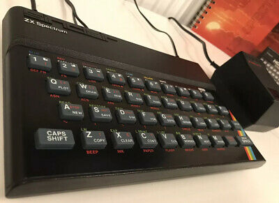 SINCLAIR ZX SPECTRUM 48K ISS 3B: Stunning Condition, Boxed & Working. • 30£