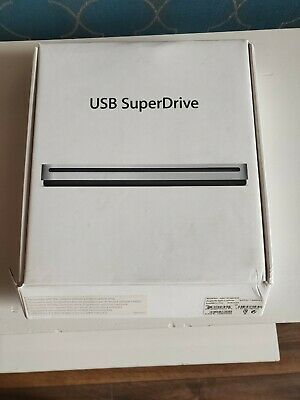 Apple USB SuperDrive DVD Re-Writer - Silver (MD564ZM/A) • 29£
