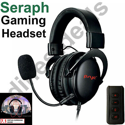 Sumvision SERAPH Gaming Headset Headphones For PC Laptop Xbox One PS4 PS5 • 25.75£