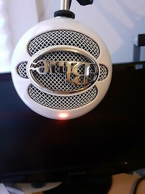 Blue Microphones Snowball ICE USB Microphone, White! • 32£