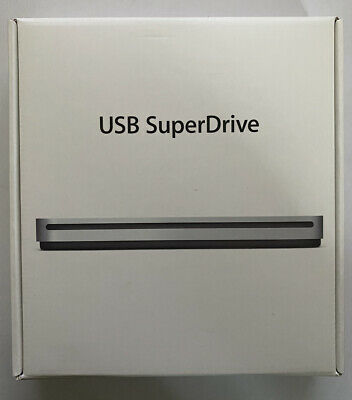 Boxed Apple USB Super Drive - Silver (MD564ZM/A) • 25£