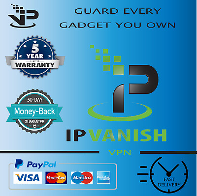 ✔️ Premium IPVanish VPN✔️ Unlimited Devices✔️5 Years WARRANTY✔️Instant Delivery • 3.89£