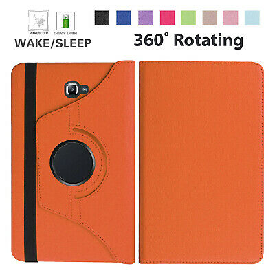 360 Rotation Leather Stand Case Cover For Samsung Tab A (10.1 ) SM: T580-T585 UK • 5.44£