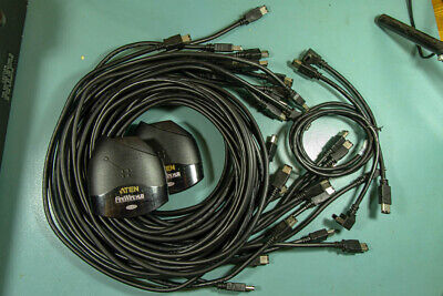 Job Lot 6 Pin Firewire 400 Cables And 5 Port ATEN Hubs • 30£