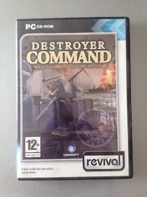 2001 Destroyer Command Game Windows CD Rom • 0.99£