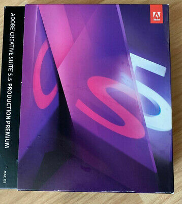 Adobe Photoshop Extended CS5 + After Effects + Premiere Pro CS5.5 Mac Englisch • 445.36£