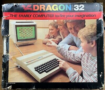 Dragon 32 Boxed With Games • 52£