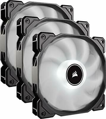 Corsair AF120 Air Series, 120 Mm LED Low Noise Cooling Fan - White (Triple Pack) • 38.58£
