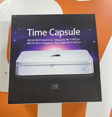 Apple Time Capsule 2TB Excellent Condition With Box • 65£