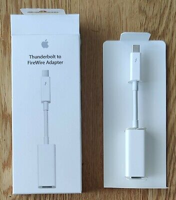 Apple Thunderbolt To Firewire Adapter • 18£