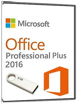 Offce 2016 Professional With Lifetime Product Key - Includes Both 32 And 64bit • 13.99£