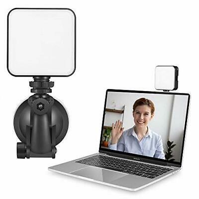 Video Conference Lighting Kit Adjustable Rechargeable LED Photography Fill Light • 29.99£