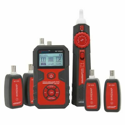 NOYAFA NF-858C Trace Cable Line Locator Portable Wire Tester Finde Tracker Cable • 98.63£