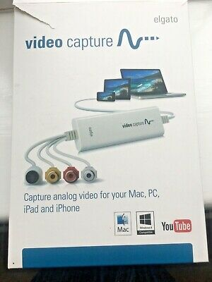 Elgato Video Capture - Simple Transfer Of Analogue Video To Mac Or PC • 47£