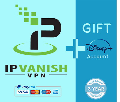 IPVanish Premium, 3 Years Usage Acc With WARRANTY+ 🎁 GIFT⭐ Instant Delivery • 6.99£