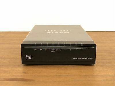 Cisco RV042G Gigabit Dual WAN VPN Router • 39.99£