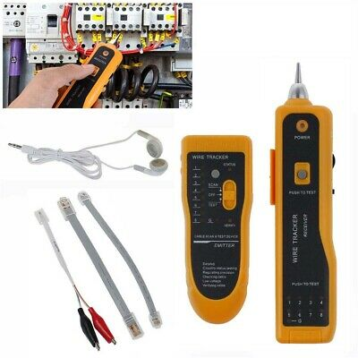 /RJ11-45-Cable-Tester-Telephone-Wire-Network-Tone-Generator-Probe-Tracker-Tracer • 14.81£