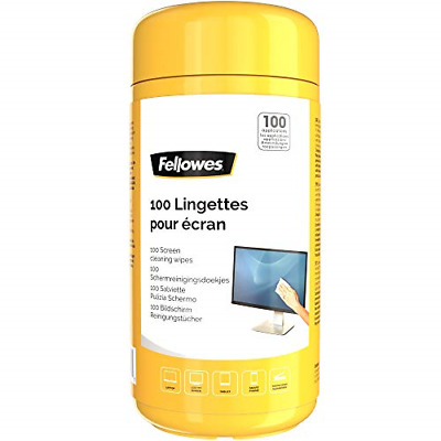 Fellowes Performance Screen Cleaning Wipes Tub, 100 Wipes • 4.73£