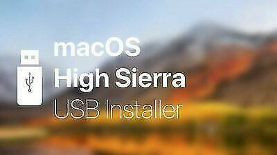 MacOS High Sierra10.13 Bootable USB Flash Drive To Recover, Repair & Restore • 16.95£